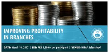 IMPROVING PROFITABILITY IN BRANCHES