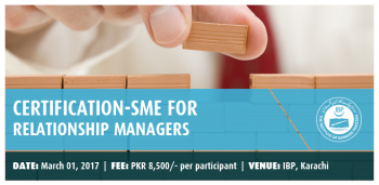 CERTIFICATION-SME FOR RELATIONSHIP MANAGERS